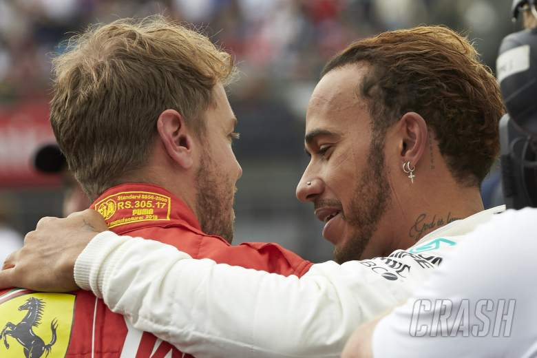 F1: Hamilton expecting Vettel to be 'stronger' in F1 2019