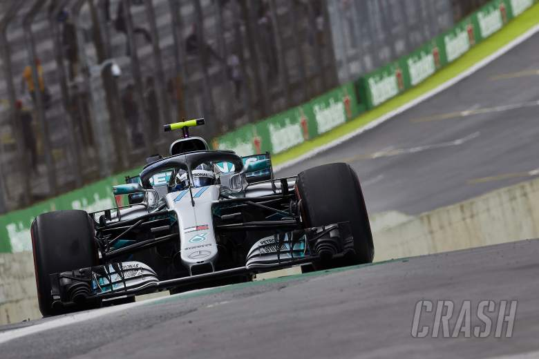 Mercedes wins fifth consecutive constructors' F1 title in Brazil