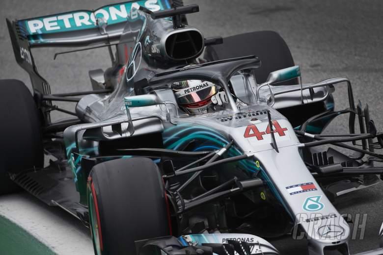 F1: Hamilton wins Brazilian GP as Ocon clash costs Verstappen