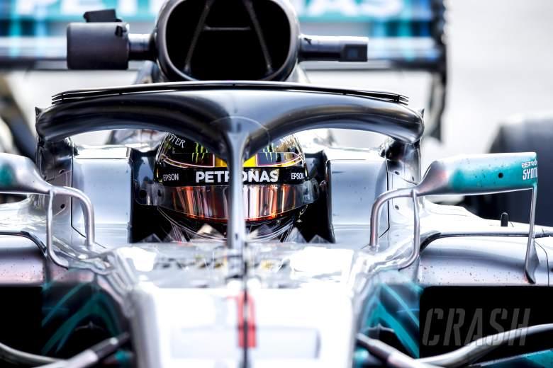 F1: Hamilton 'does not like #1 at all' despite Abu Dhabi FP1 run