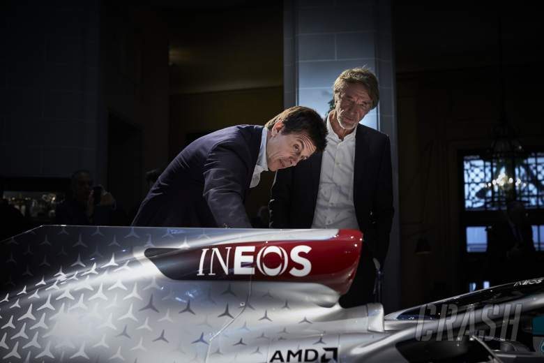 """Wolff denies """"made up"""" Ineos-Mercedes F1 takeover story"""