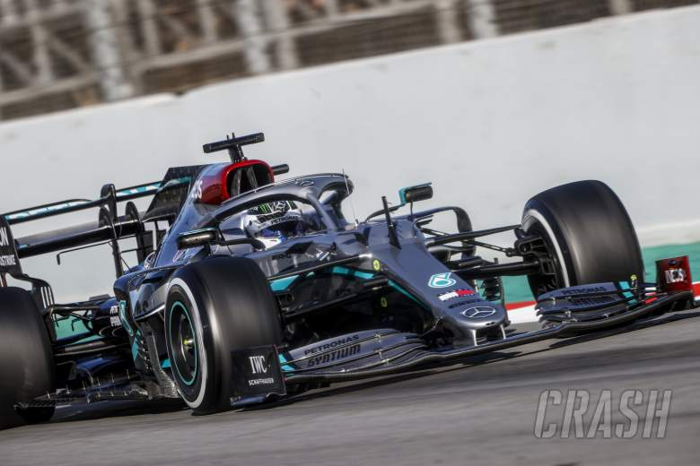 Bottas rounds out F1 testing fastest for Mercedes