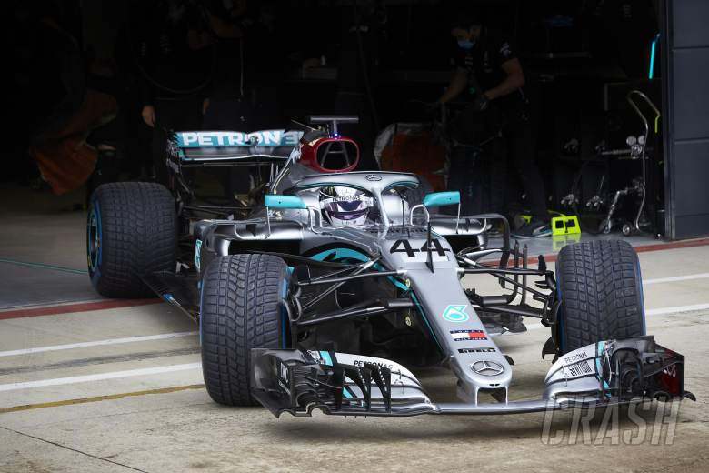 Mercedes testing at Silverstone with new F1 COVID-19 measures