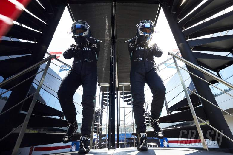 Silverstone first practice: Bottas leads Hamilton