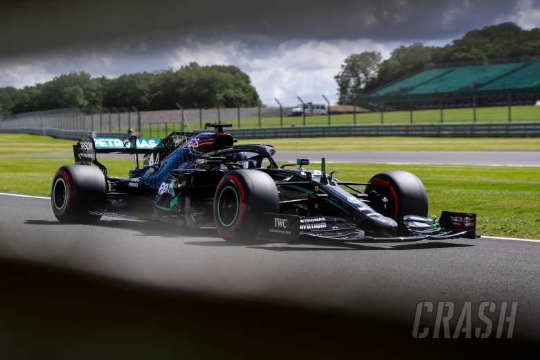 F1 British Grand Prix 2020 - Starting Grid