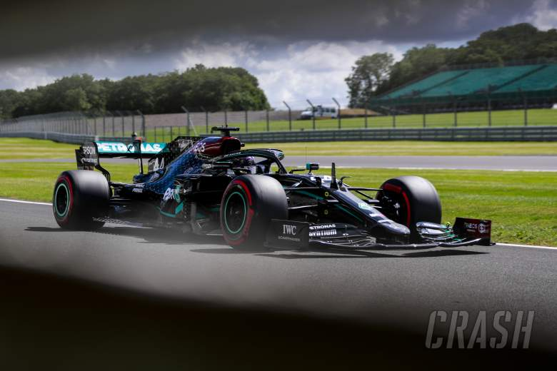 F1 British Grand Prix 2020 - Starting Grid