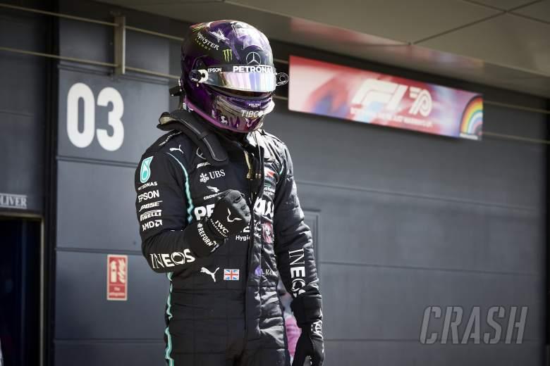 """Spin to British GP F1 pole was """"hardest turnaround"""" – Hamilton"""