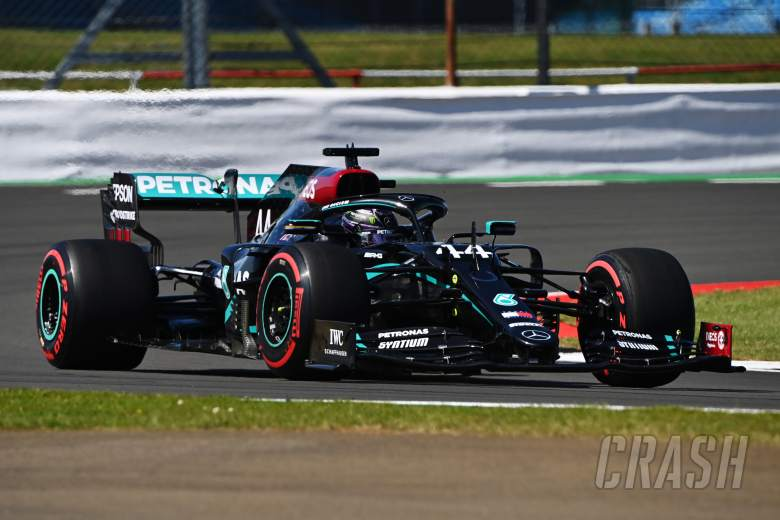 Hamilton stays on top in final F1 Anniversary GP practice