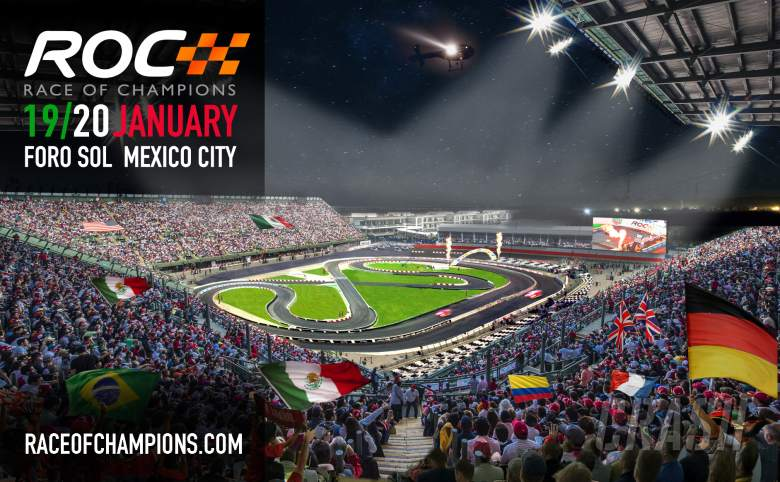 Other: Mexico to host Race of Champions in 2019