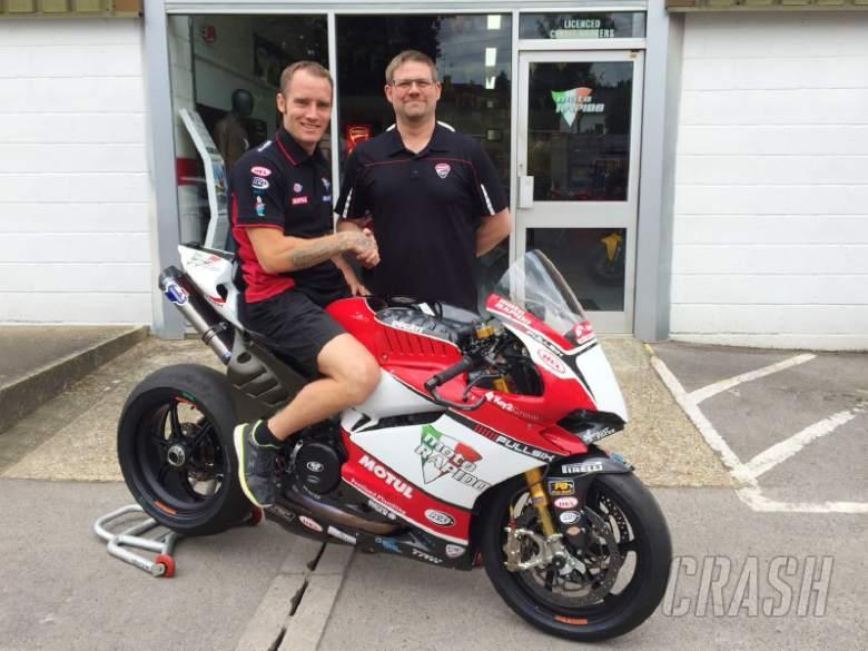 British Superbikes: Tommy Bridewell, Moto Rapido Ducati,