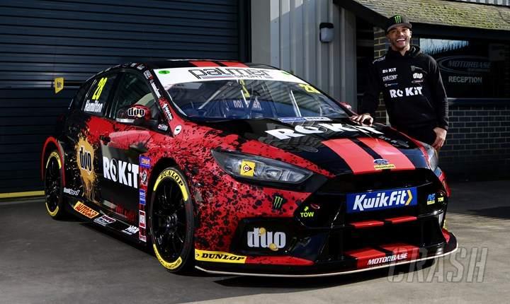 Nicolas Hamilton, Motorbase Performance, BTCC,