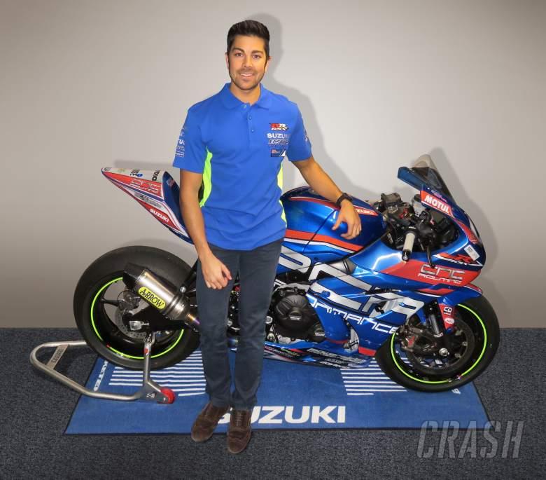 British Superbikes: Gino Rea, OMG Racing Suzuki