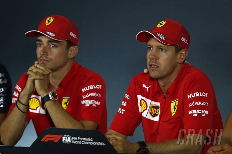 Ferrari: Q3 incident won't impact Vettel-Leclerc relationship