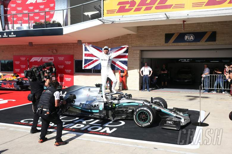 Hamilton 'overwhelmed' by sixth F1 title triumph