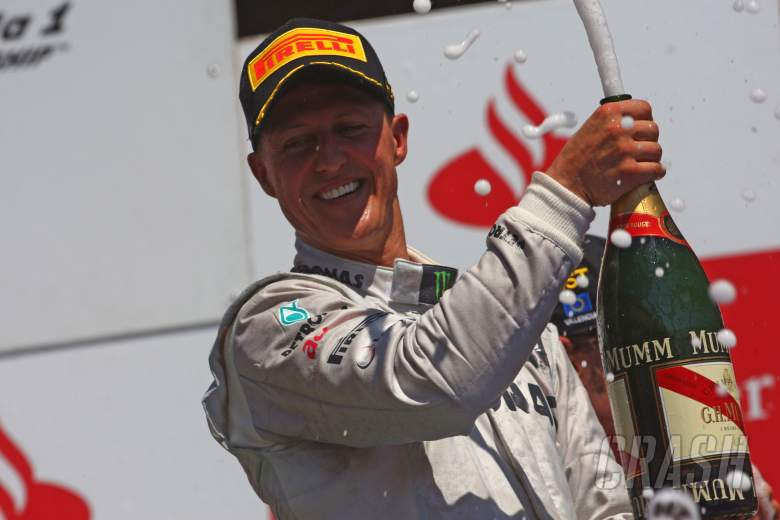 F1: Mercedes pays tribute to F1 'icon' Schumacher on 50th birthday