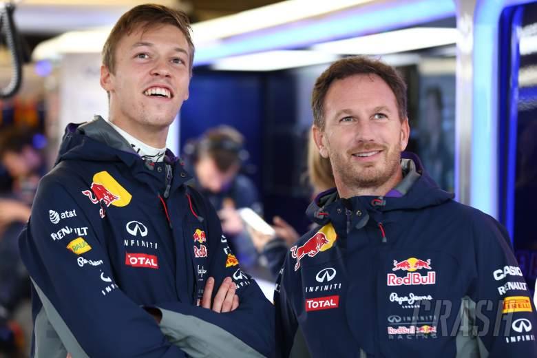 F1: Daniil Kvyat, Christian Horner, Red Bull,