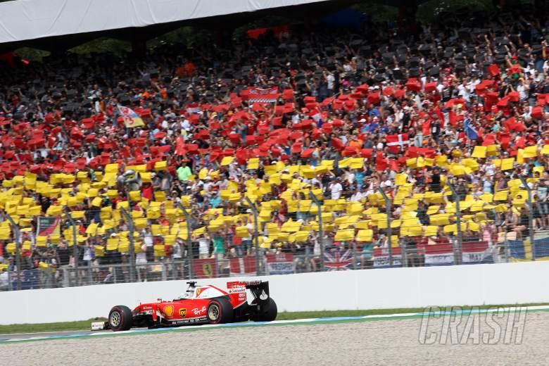 F1: Sebastian Vettel, Ferrari, German GP,