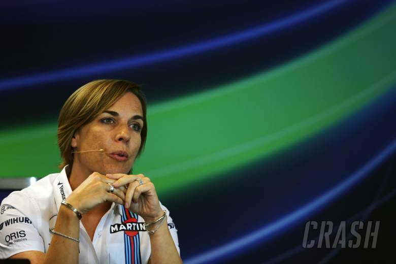 F1: Claire Williams, Williams,