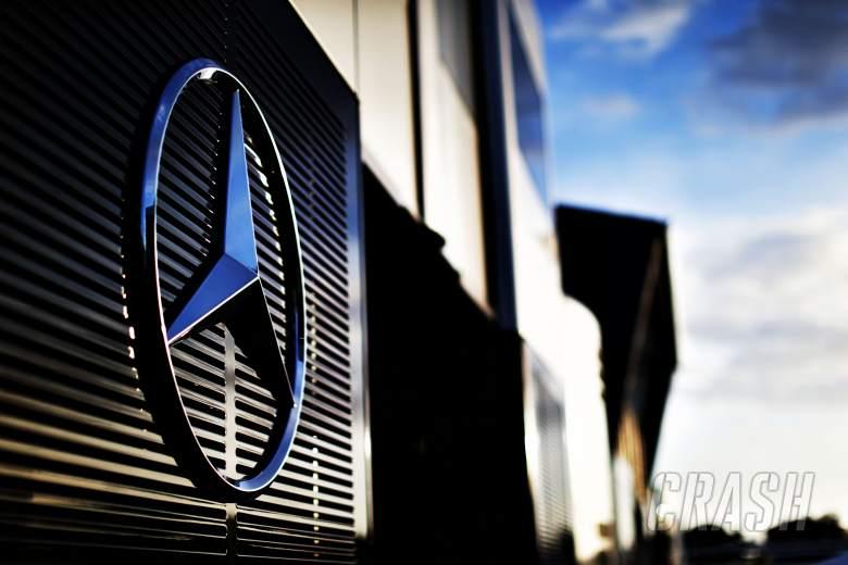 Mercedes badge, logo,