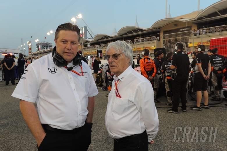 Brown: Ecclestone's F1 electric comments 'off-season banter'