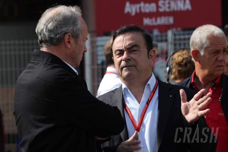 F1 Gossip: Ex-Renault CEO Ghosn flees Japan in musical instrument box