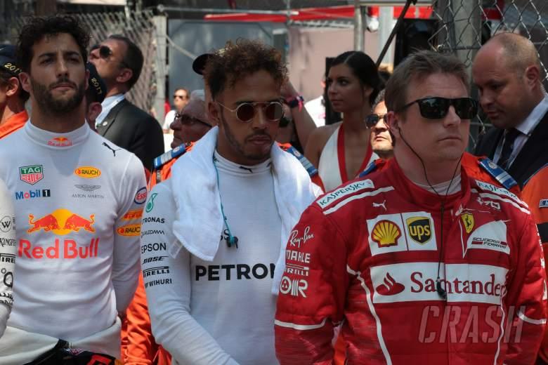 F1: Lewis Hamilton, Kimi Raikkonen, Daniel Ricciardo,
