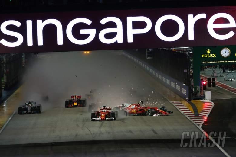 Sebastian Vettel, Kimi Raikkonen, Max Verstappen,