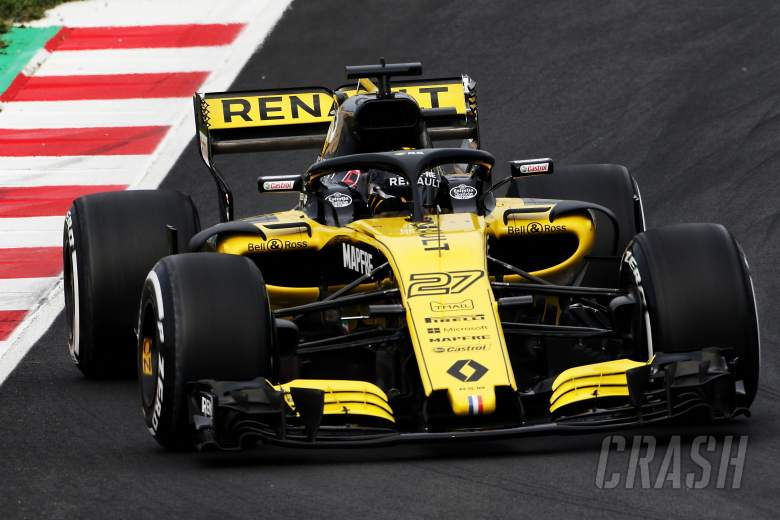 """Hulkenberg was """"scared"""" on his first F1 2018 run"""