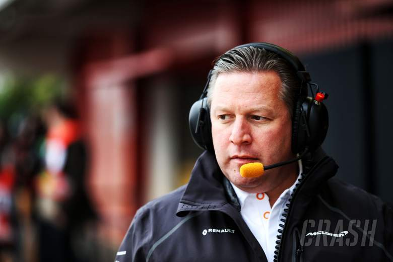 F1: Brown: F1 2019 not a 'now or never' year for humble McLaren