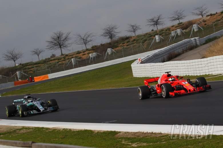 Valtteri Bottas, Mercedes, Sebastian Vettel, Ferrari,