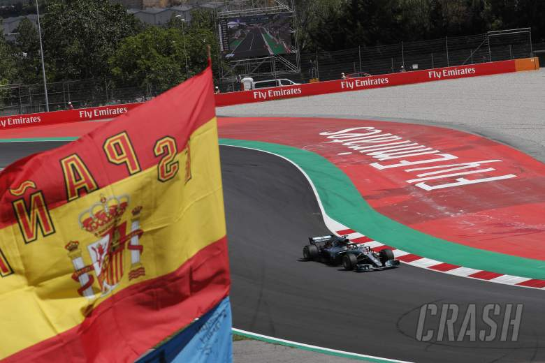 F1: Spanish Grand Prix - Race results