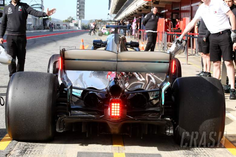 F1: F1 cars to use rear endplate rain lights from 2019