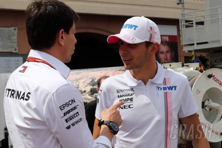 F1: Mercedes won't release Ocon 'in a million years' – Wolff