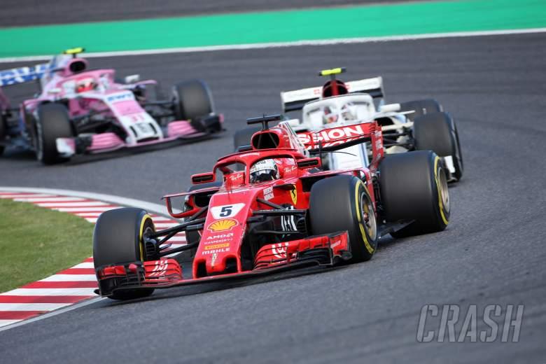 F1: Vettel: Ferrari 'still too far away' from Mercedes in 2018