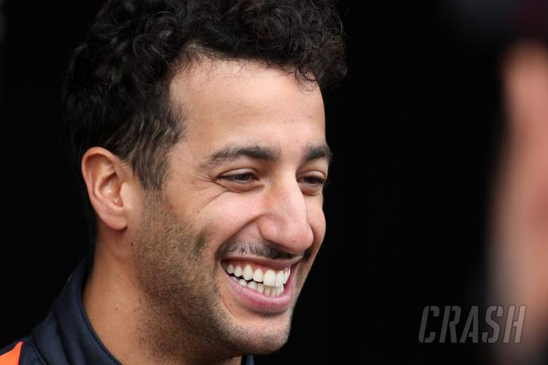 F1: Ricciardo makes first Renault F1 appearance