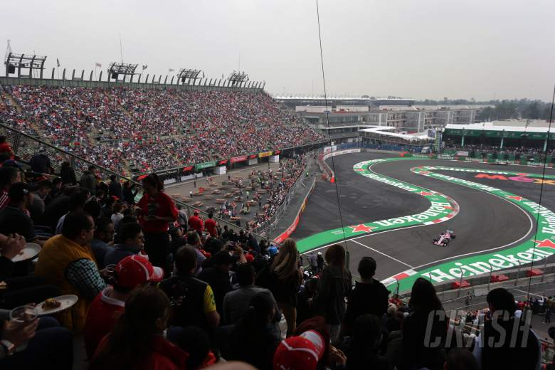 "F1: Perez: Mexican GP F1 future looking ""more promising"""