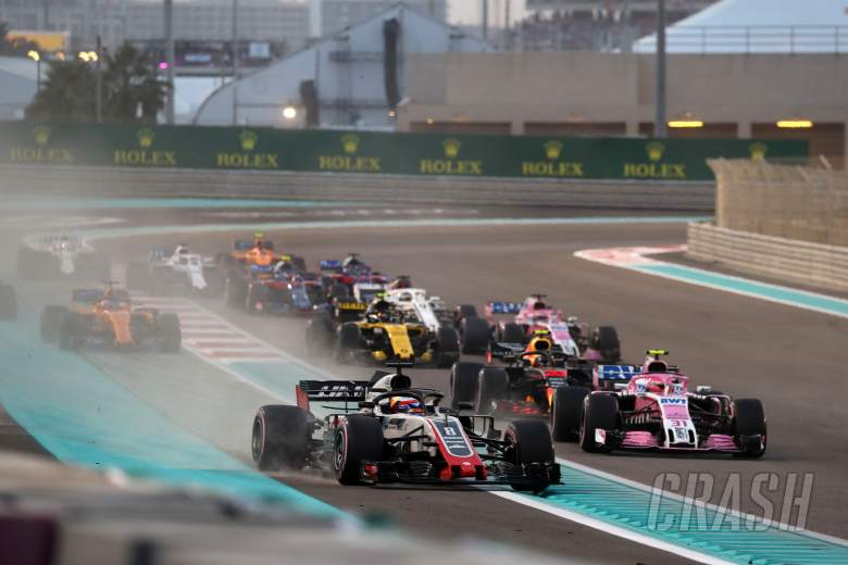 F1 Abu Dhabi GP - Race Results