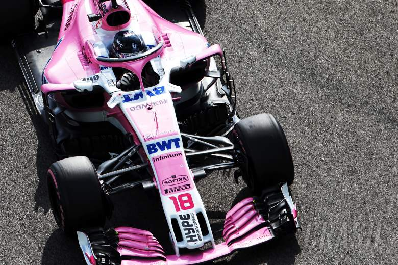 F1: Renamed Force India F1 squad set to keep pink livery in 2019