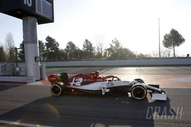 F1: Barcelona F1 Test 1 Times - Monday 5PM