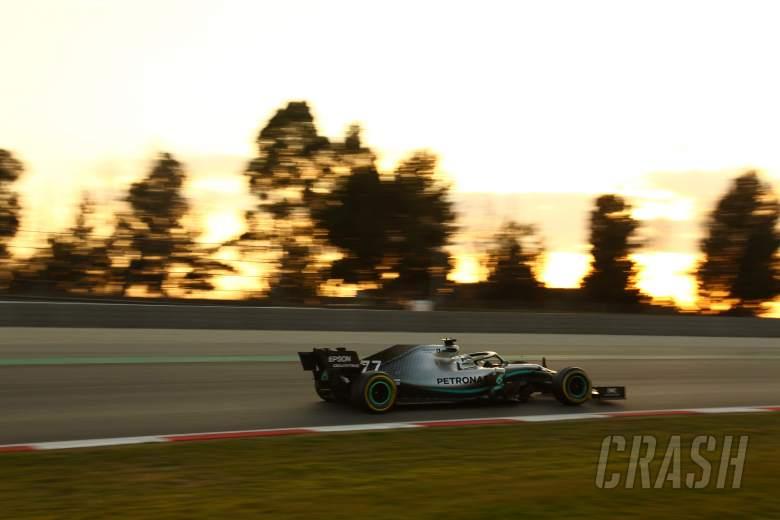 Barcelona F1 Test 1 Times - Thursday 5PM