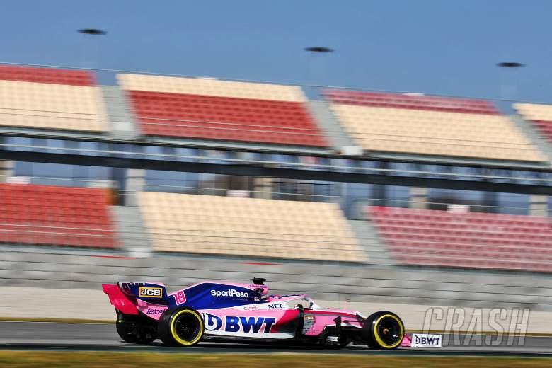 F1: Barcelona F1 Test 1 Times - Thursday 3PM