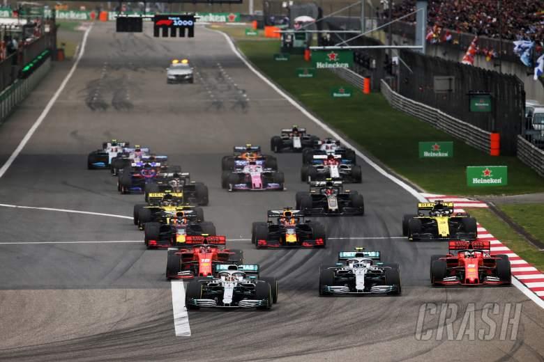 F1: Bottas: Painted lines caused wheel spin, poor start