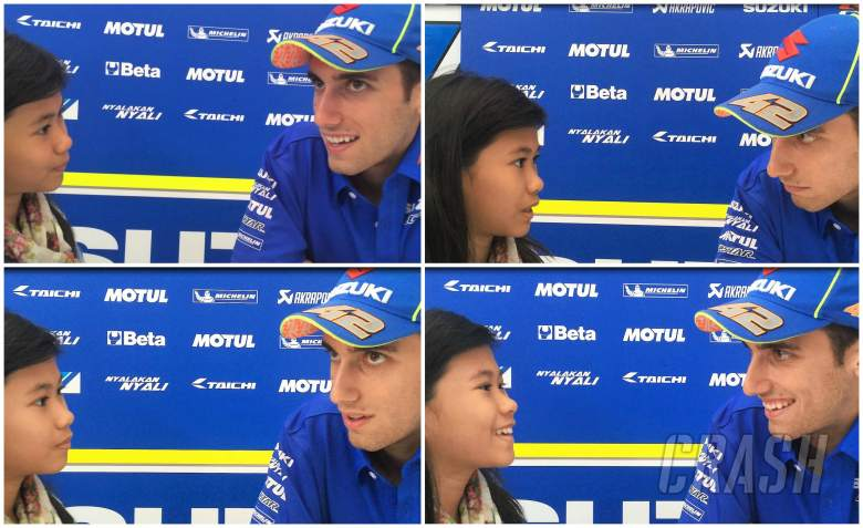 Shaina interviews… Alex Rins!