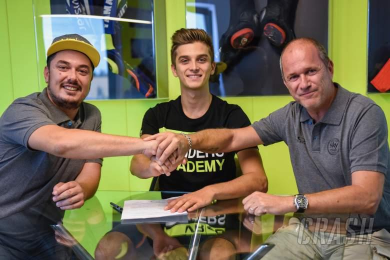 MotoGP: VR46 confirms Marini, Foggia for 2018