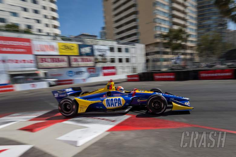 IndyCar: Rossi rises to the fore in final Long Beach practice