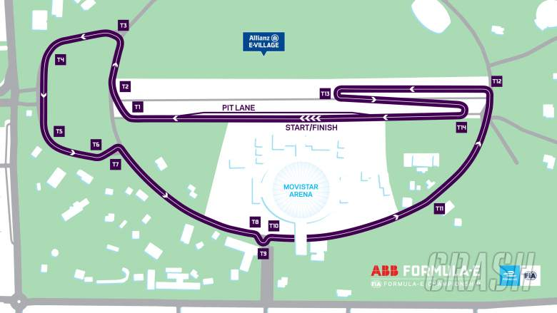 Formula E: Formula E reveals new track for Santiago's 2018/19 race