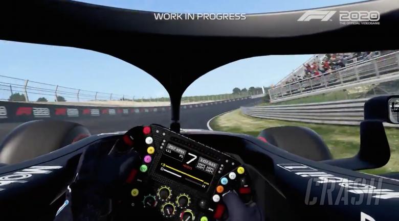 New Zandvoort track revealed in F1 2020 gameplay