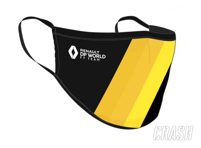 Renault first F1 team to sell COVID-19 face masks