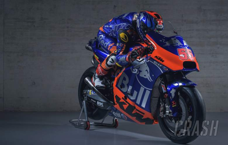 MotoGP: FIRST LOOK: Tech3's blue, silver and orange KTM colours