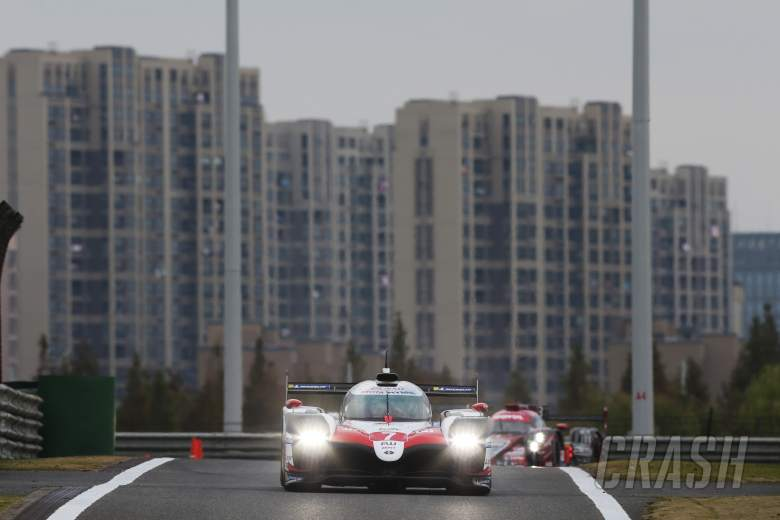 Sportscars: Toyota takes WEC Shanghai 1-2 as rain, red flags dominate